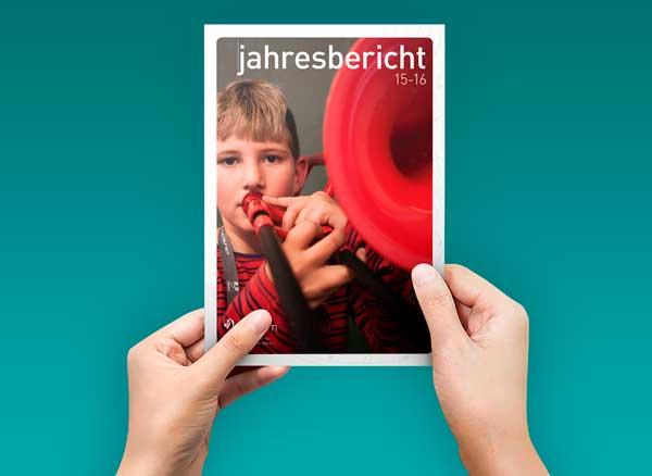 Teaser Bild von Jahresbericht JEKI Bern 2015/2016