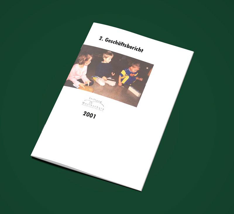 Teaser Bild von Geschäftsbericht 2001 zum Download (PDF, 2 MB)